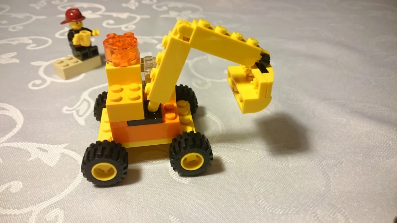 Klocki Lego Classic Koparka Lego Build Youtube