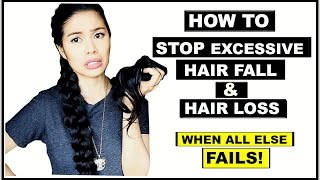 How To Stop Excessive Hair Fall & Hair Loss-If All Else Fail-Beautyklove