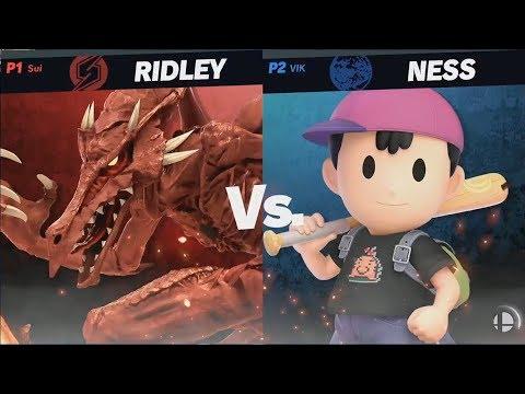 GAMESCOM 2018 Battle Stage 1v1 Match 3 - Super Smash Bros. Ultimate