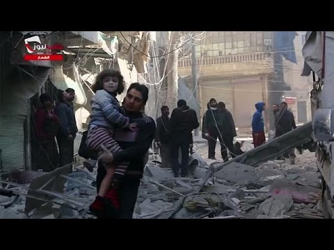 Air strikes kill dozens in eastern Aleppo - monitor