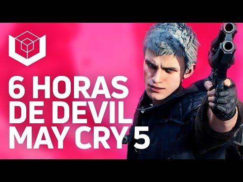 Jogamos Devil May Cry 5: gameplay de V, novos braços de Nero, novas armas de Dante e chefões thumbnail