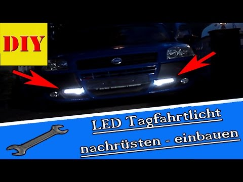 tutorial led tagfahrlicht tagfahrtleuchten mit r87 modul nachr sten einbauen und anschlie en. Black Bedroom Furniture Sets. Home Design Ideas