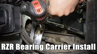 How to Install Polaris RZR Bearing Carrier | SuperATV