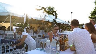 8th Annual White Party at the Freeman Stage