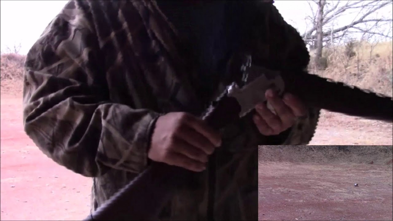 At The Range With My Yildiz Over Under 20 Gauge Shotgun