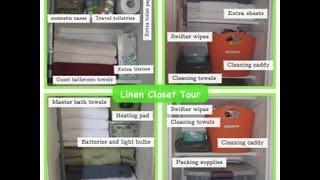 Linen Closet Tour Thumbnail