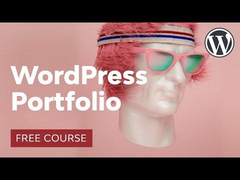 Build A WordPress Portfolio Site In 1 Hour