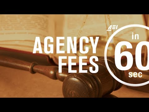Agency fees explained | IN 60 SECONDS