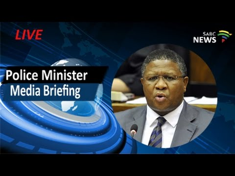 Police Minister Mbalula media briefing, 25 April 2017