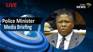 Police Minister Mbalula media briefing, 25 April 2017 thumbnail