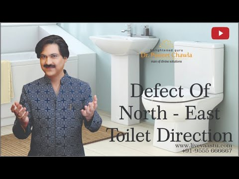 Vastu Tips for Toilet : How to Correct North East Toilet ...