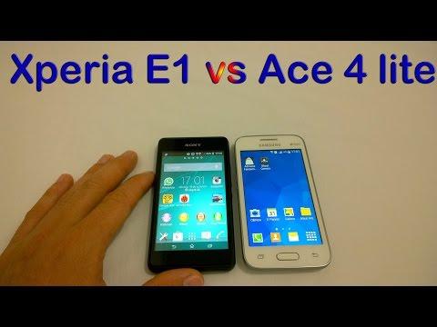 Xperia E1 vs Galaxy Ace 4 lite - Teste [Comparativo]