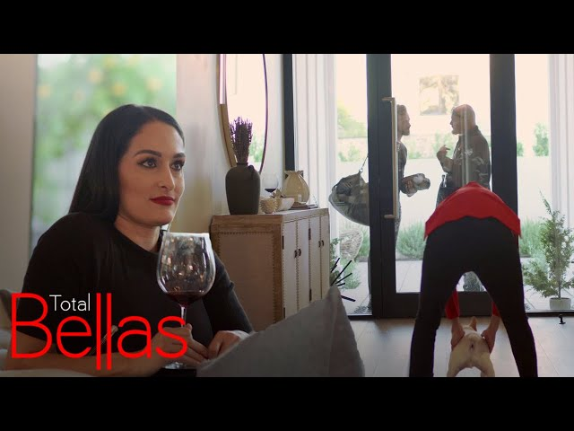Nikki Bella\'s Dad Questions If Her Relationship With Artem Is Real   Total Bellas   E!