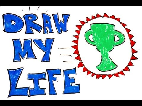 Thumbnail: Draw My Life - Game Theory, MatPat, and YOU!