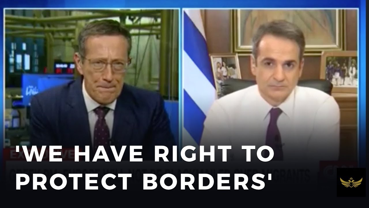 "Greek PM to CNN, ""We have every right to protect our sovereign borders"""