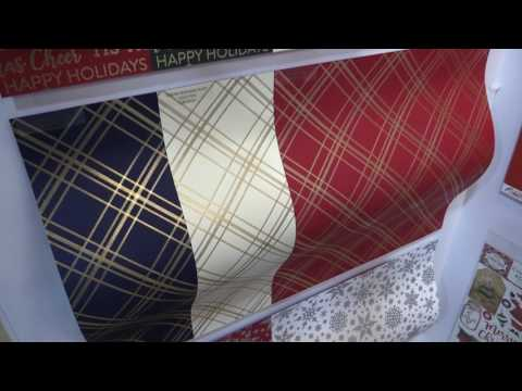 Foiled Cardstock Collection by Carta Bella | Mixed Media Event 2017