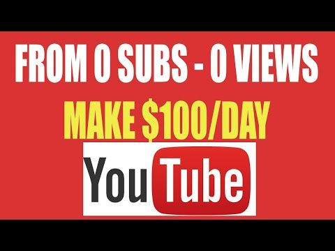 How to Make Money on YouTube In 2019 ( $100 Per Day As Beginner)