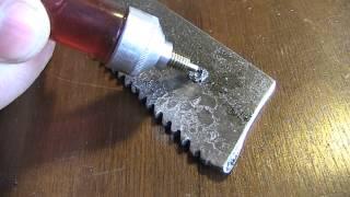 Чем сверлить каленую сталь. Сверлим пилу из быстрореза(Сверлим каленую сталь. Есть много способов сверления каленой стали. Кто-то прожигает, кто-то пробивает,..., 2014-01-31T13:32:05.000Z)