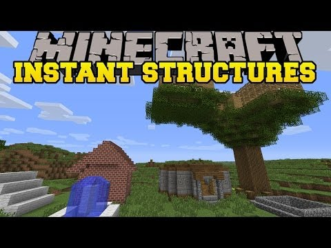 minecraft:-instant-structures-(instant-mob-trap,-houses-and-more!)-instant-house-mod-showcase