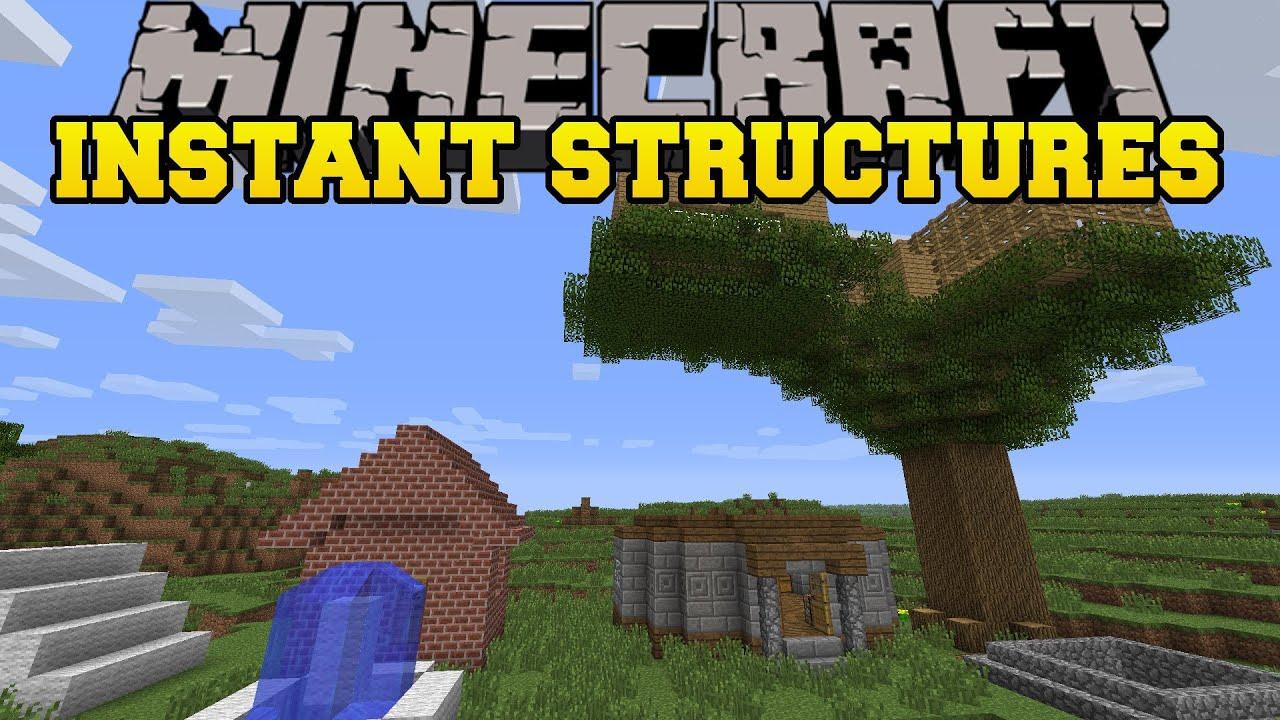 Minecraft моды на Дома