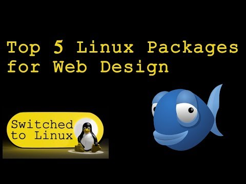 Top 5 Linux Packages For Web Design