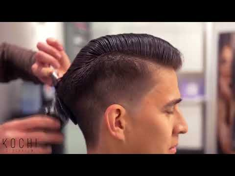 Taper Fade Haircut Ft Mister Pompadour Peppermint Pomade 1080p Hd