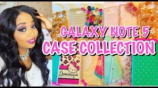 Galaxy Note 5 Case Collection!!