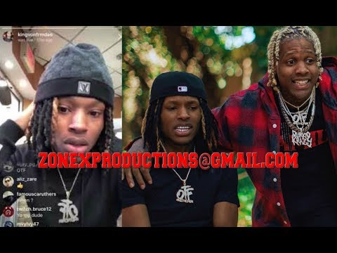 """Chiraq Rapper King Von FIRST IG since released from Jail,tells lil durk """"man up"""" take the charges!"""