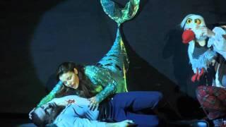 בת הים הקטנה המחזמר שם בעולם the little mermaid part of your world reprise