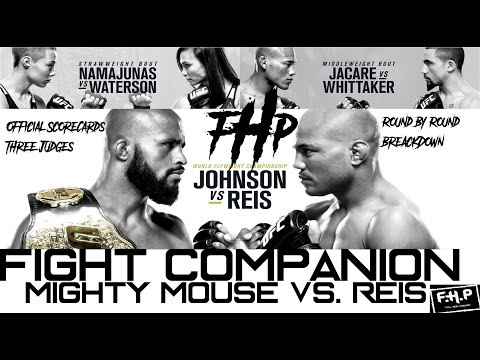 Full Heel Podcast- Fight Companion Mighty Mouse vs. Reis