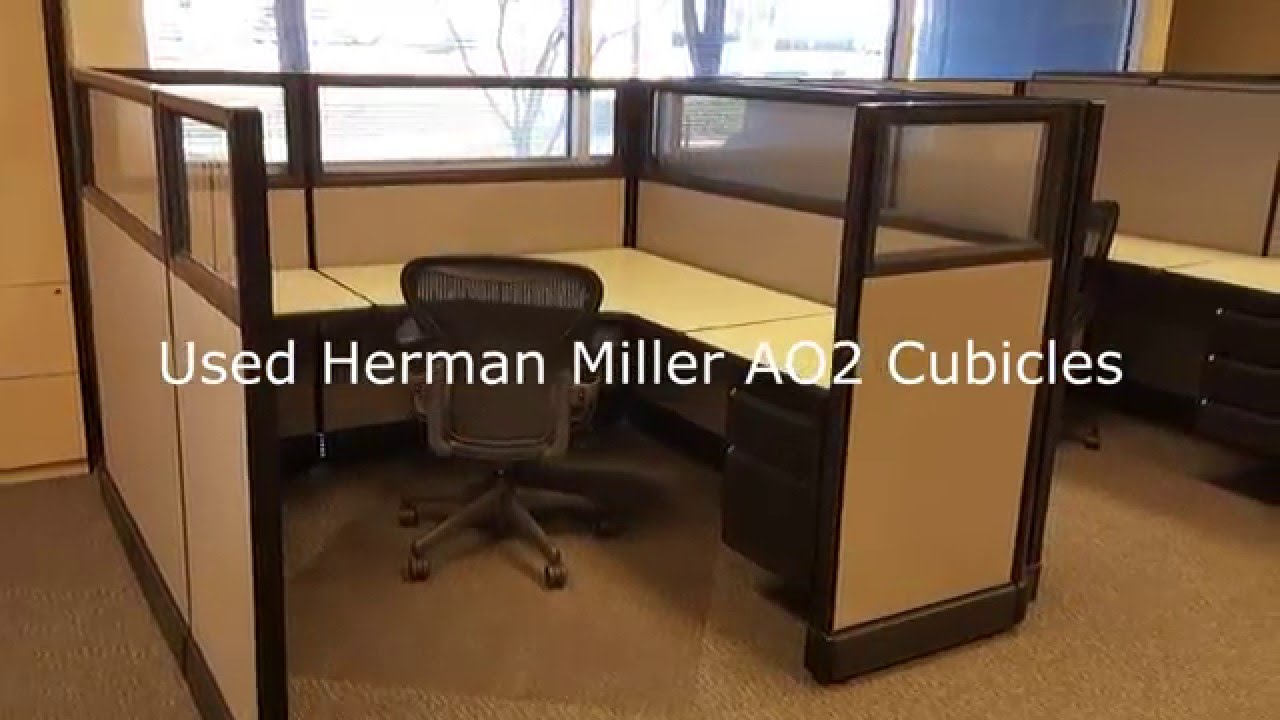 Office Furniture: Herman Miller AO2 Cubicles Dallas Texas USA