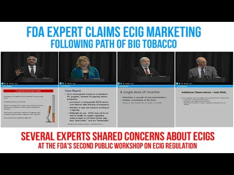 Expert Claims Ecigs Are On The Same Path As Big Tobacco - ECCR Live - eCig News Podcast - Episode #7