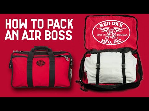 How to Pack the Red Oxx Air Boss Carry-on Bag