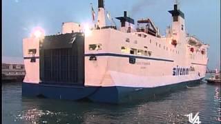 Lampedusa arriva la nave carica di viveri Tva Notizie 4 Marzo