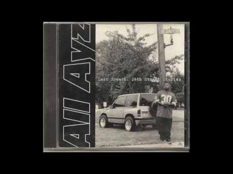 "ALL AYZ - Last Breath 24th Street Stories ""Conversation"" OMAHA RAP CLASSIC"