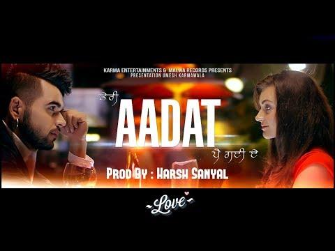 Aadat - Instrumental Cover Mix (Ninja)  | Harsh Sanyal |