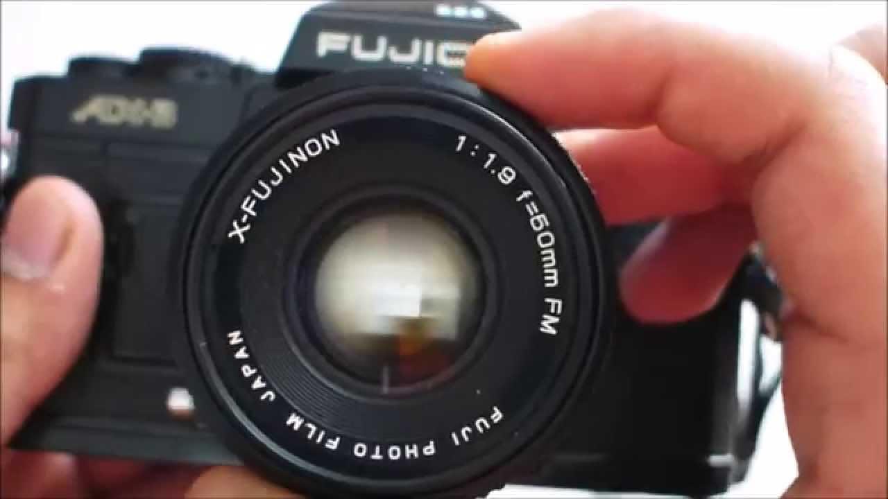 Fujica AX-3 Film SLR Camera