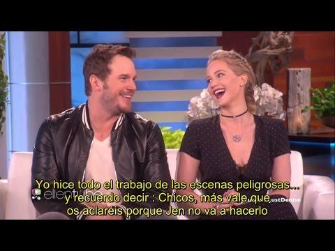 Jennifer Lawrence + Chris Pratt - Mejores momentos - SUBTITULADO ESPAÑOL