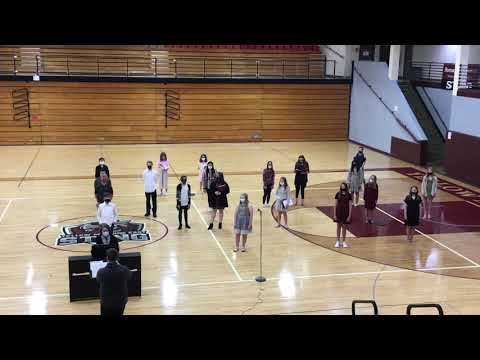 Yellow Medicine East Middle School Choir - Didn't My Lord Deliver Daniel