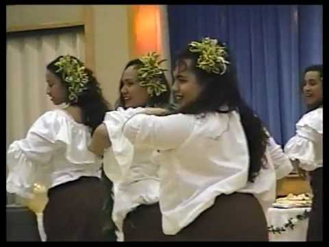 "Tongans Dance to ""TATARAHAPA "" --Tahitian Hymn--"