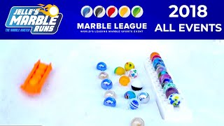 Winter Marble Games 2018 - All Events! (MarbleLympics)