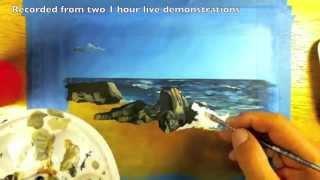 Acrylic Seascape Tutorial Excerpts