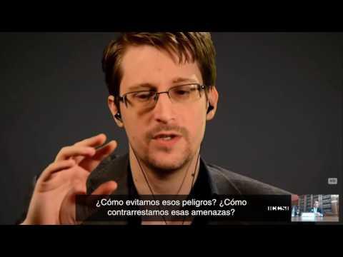 Entrevista a Edward Snowden sobre el control ciudadano de los sistemas de inteligencia