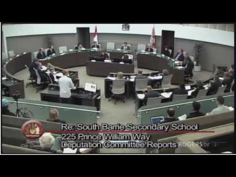Barrie City Council Meeting - June 13, 2016