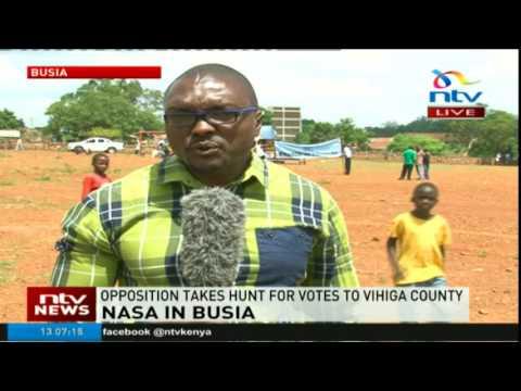 NASA Busia tour update: Raila and team split to cover more rallies