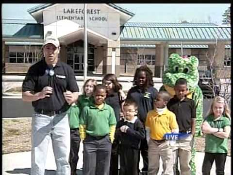 9 On Your Side - Visits Lakeforest Elementary
