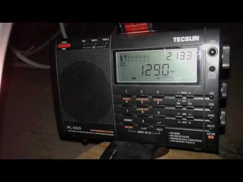 Sintonizando a Rádio Timbira de São Luís/Ma com receptor Tecsun Pl660 em Juazeiro do Norte/CE