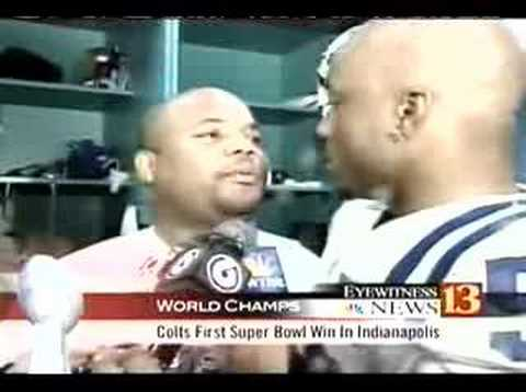 COLTS CATO JUNE INTERVIEWS GARY BRACKETT AFTER WIN