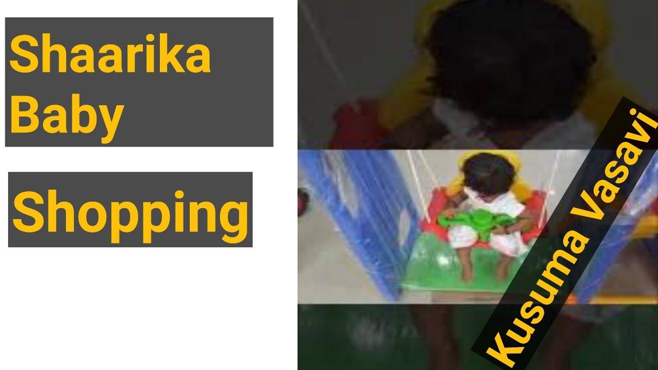 Kusuma Vasavi Telugu Vlogs - Shaarika Baby Shopping|Telugu ammayi |Kusuma Vasavi Telugu Vlogs