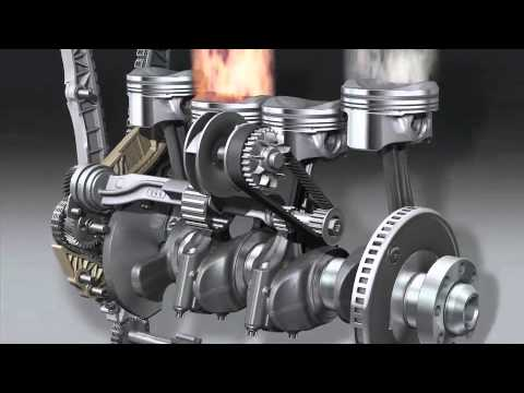 Audi new 1 8 TFSI Engine - YouTube